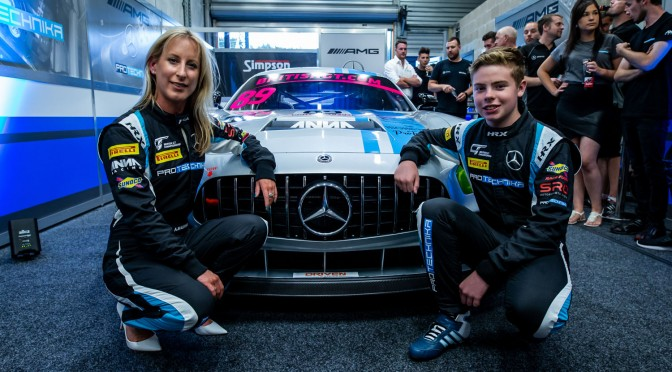 """""""The Support Has Been Unreal!"""" – ProTechnika Motorsport's Anna Walewska On Team Launch And Plans For Two-Car Assault On 2019 British GT Championship (28.07.18)"""
