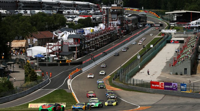 All To Play For As British GT Heads To Spa For Round Seven (19.07.18)
