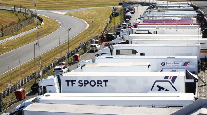 TF Sport / Sorensen / Johnston Top Time Sheets In Shortened British GT FP2 (04.08.18)