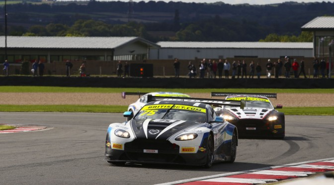 Victory For Minshaw And Keen. Haigh And Adam Take British GT GT3 Drivers Title (23.09.18)
