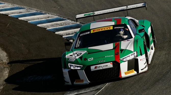 Audi Sport Team Land / Haase Snatch Pole For Laguna Seca 8 Hours (27.10.18)