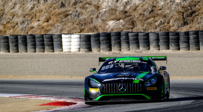 Mercedes-AMG Team Strakka Racing On Provisional Pole At Laguna Seca (27.10.18)