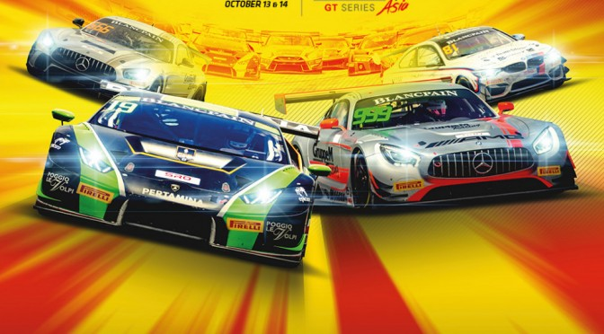 All To Play For As Blancpain GT Series Asia Reaches Season Finale At Ningbo (10.10.18)